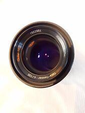 Rollei-HFT Tele-Tessar 135mm f4 Lens in QBM Mount.