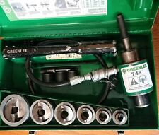 "Greenlee 7506Ss 1/2- 2"" Self Centering SlugSplitterl Hydraulic Knockout Set"