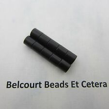 100 - Super Strong! 12x6mm BLACK Magnetic Clasps - Each Piece is 6mm in length