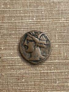 monnaie grecque a determiner bronze diam 18 mm poids 5,11 gr