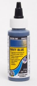 Woodland Scenics Water Tint - Water System Navy Blue CW4519