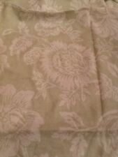Rachel Ashwell Shabby Chic Stipple Oyster Fabric Sample Sage Green 1 Yd Cottage