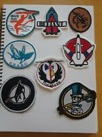 Gi Joe ARAH 8 patches Whale Tomahawk Sharc Vamp Devilfish Conquest Phantom part