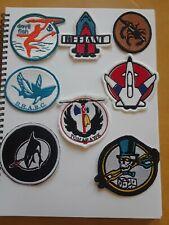Gi Joe ARAH 8 patches Whale Tomahawk Sharc Vamp Devilfish Conquest Phantom part