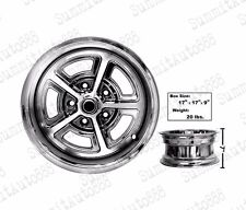 "Magnum Alloy Wheel 15""x7"" Center Cap 5""x4.75"" Bolt Pattern 0 Offset UNWH-10"