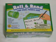 Lakeshore Roll and Read Long Vowel Phonics Game. New Condition Ages 6+