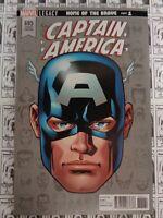 Captain America (2017) Marvel - #695, 1:10 Mike McKone Variant, Waid/Samnee, VF-