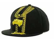 Trukfit Apparel Co. 2 Trucks 2 Chains Adjustable Snapback Flatbill Cap Hat
