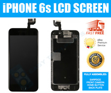 """For iPhone 6S 4.7"""" Black LCD Touch Screen Digitizer Camera &Button Replacement"""