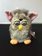 """1998 Hasbro Furby""""Wolf""""~1st edition~Vintage~Gray~with box,tags,and manuals."""