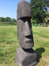 Gartenskulptur Moai Osterinsel Statue Gartenfigur Maori 120 cm