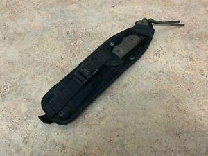 Tops Tom Brown Tracker Knife M-11857 W/ Sheath OAL 11 3/4 inch 1/4 Inch Thick