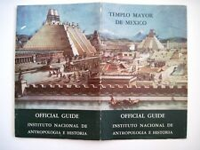 """1957 """"Tempo Mayor De Mexico"""" Official Guide Booklet w/ Fantastic Pic on Cover *"""