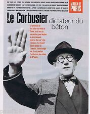 COUPURE DE PRESSE CLIPPING 1995 LE CORBUSIER  (4 pages)
