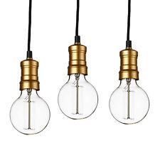 [lux.pro] 3x Suspensions DOUILLE DE LAMPE PLAFONNIER EDISON rétro
