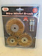 IIT wire wheel brush 5 piece set