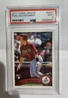 2011 Topps Update #US47 Paul Goldschmidt Diamondbacks RC Rookie PSA 9 MINT