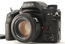 【NEAR MINT】 Minolta α-7 35mm SLR Camera + AF 50mm F/1.4 Lens From JAPAN