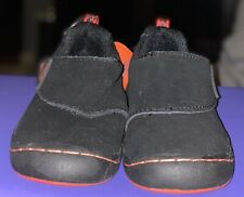 Jambi Toddler Shoes-Size 8- Dark Blue Suede Type Material-New With Tags