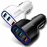 3-Port USB Fast Charging Rapid Car Charger Adapter for Android Samsung Galaxy LG
