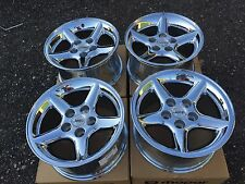 RARE OEM NEW JEEP WRANGLER Cherokee Liberty CHROME Alloy Wheels 82205897