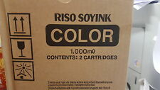 Original riso Ink s-2749 bright red soyink Cartridge s2749 para RP 3700 rp3700