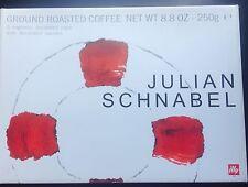 Julian Schnabel 2005 CAPSULE ILLY'S tazze da caffè
