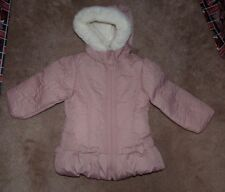 NEW WIPPETTE Kids Winter Jacket Hooded Coat Girls 2T Light Pink White NEW NWT
