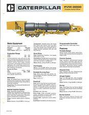Equipment Brochure - Caterpillar - PVM-2000 - Portable Venturi Mixer (E3252)