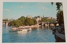 Carte Postale PARIS L'ILE SAINT-LOUIS - Editions BORDE