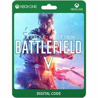Battlefield V 5 Deluxe Edition Xbox One Codice Download Gioco Digitale CD Key