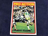 J3-67 FOOTBALL CARD - JOHN RIGGINS NEW YORK JETS - CARD #126 - 1972 TOPPS