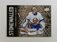 2018-19 Upper Deck UD Series 1 Stonewalled #SW-37 Thomas Greiss