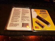 Arc AAA Flashlight 5MM White LED Black Hard Anodized