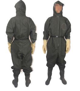 Men outdoor fishing waterproof raincoat rain pants zipper vew rainwear hood suit