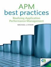 APM Best Practices: Realizing Application Performance Management Books for Prof