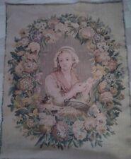 GOBELINS tapisserie Murale Portrait Couturière