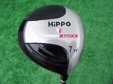 Hippo Golf Power Strike Ladied Flex 7 Fairway Wood 25 Degree Ladies Graphite NEW