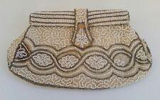 Vtg Samuel Coleridge Estate Art Deco Beaded Evening Handbag Clutch Purse