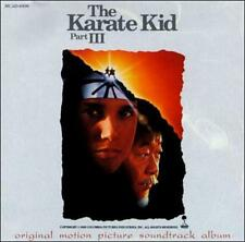 The Karate Kid Part 3 III Soundtrack CD Early Pressing RARE!  FREE SHIP!