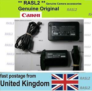 Genuine Canon ACK-E4 AC Adapter Kit for EOS 1DX,1DX MK II,1D Mark III,1D Mark IV