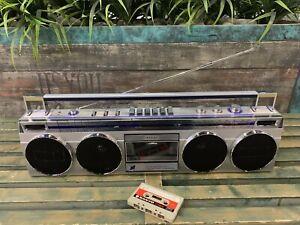 SANYO M-7830 Stereo Boombox Ghettoblaster
