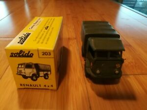 Vehicule militaire 1/43 Solido