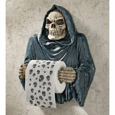 CL56592 Grim Reaper Sculptural Bath Tissue Tyrant - New!