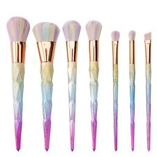 US Pro Comestic Make up Brushes Set Makeup Foundation Powder Blusher Brush +Case