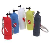 Diving Tank Accessories Key Chain Dive Flag Keychain Keyring Diver Fans Pendant√