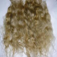 REBORN MOHAIR DOLL HAIR FAIRY TROLL BLYTHE PUPPET - HONEY half ounce