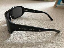 VALENTINO 1176 S Occhiali da sole colore 807DO Shiny Black Smoke Crystal