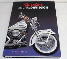Libro Ilustrado: Harley Davidson / Ayer y Morgen V-Twin Racer Moto Drag Special