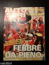 Autosprint anno XXIV n. 10 - 6/12 marzo 1984
